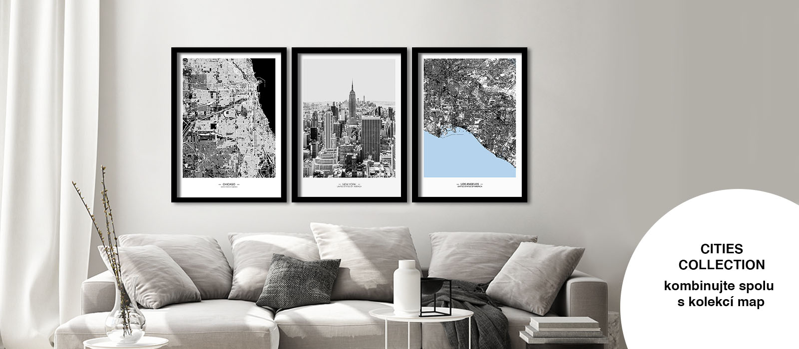 laforma města mapy obraz na stěnu